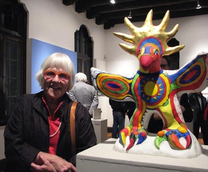Niki De Saint Phalle Sun God